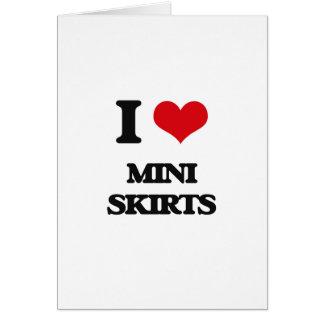 I love Mini Skirts Cards