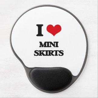 I love Mini Skirts Gel Mousepad