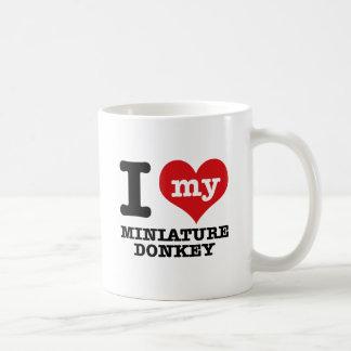 I love MINIATURE DONKEY Coffee Mug