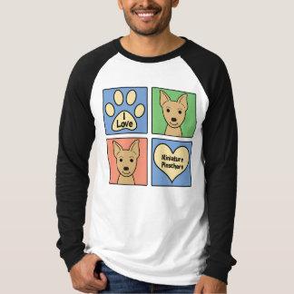 I Love Miniature Pinschers T Shirt