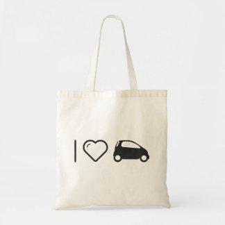 I Love Minicars Budget Tote Bag