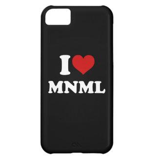 I Love Minimal iPhone 5C Covers