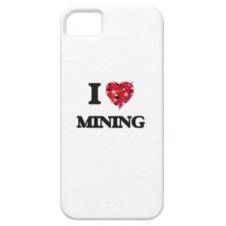 I Love Mining iPhone 5 Cases