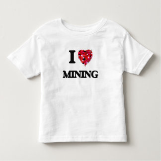 I Love Mining Shirts