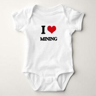 I Love Mining Tshirt