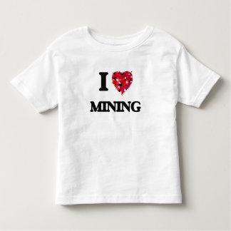 I Love Mining Tee Shirt