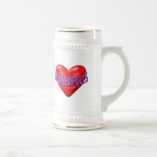 I Love Minneapolis Beer Stein