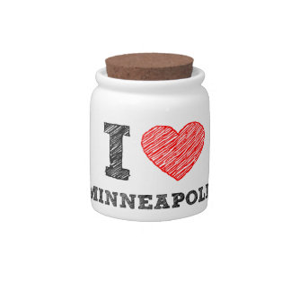 I-Love-Minneapolis Candy Dish