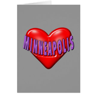 I Love Minneapolis Card