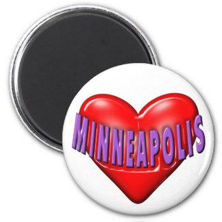 I Love Minneapolis Magnet