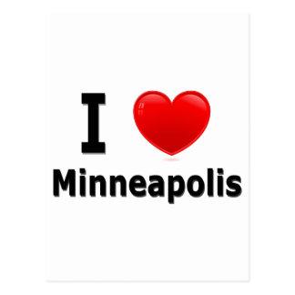 I Love Minneapolis Postcard