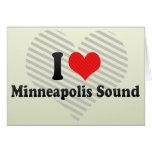 I Love Minneapolis Sound Cards