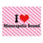 I Love Minneapolis Sound Postcard