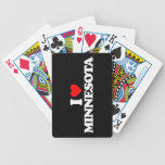 I LOVE MINNESOTA BICYCLE PLAYING CARDS
