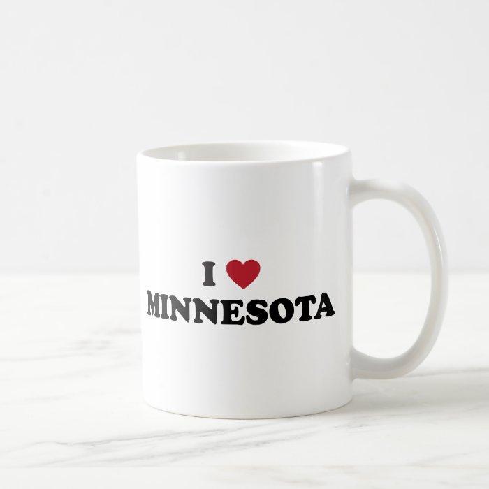 I Love Minnesota Coffee Mug