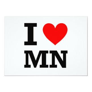 I Love Minnesota Design Card
