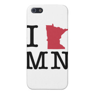 I Love Minnesota iPhone SE/5/5s Cover