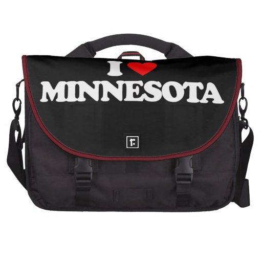 I LOVE MINNESOTA BAGS FOR LAPTOP