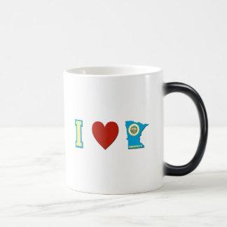 I Love Minnesota Magic Mug