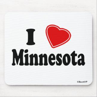 I Love Minnesota Mouse Pad
