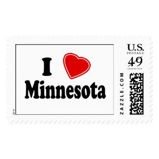 I Love Minnesota Postage