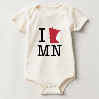 I Love Minnesota Romper