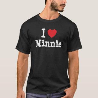 I love Minnie heart T-Shirt