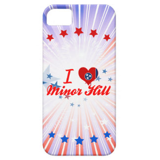 I Love Minor+Hill, Tennessee iPhone 5 Covers