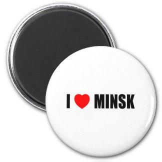 I Love Minsk Magnet
