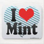 I Love Mint Mousepads