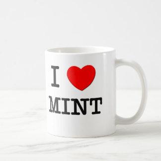 I Love Mint Mugs