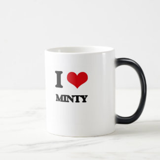 I Love Minty 11 Oz Magic Heat Color-Changing Coffee Mug