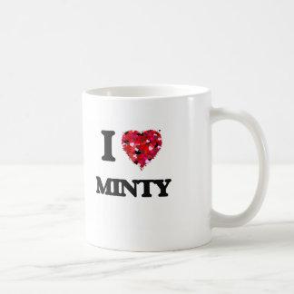 I Love Minty Classic White Coffee Mug