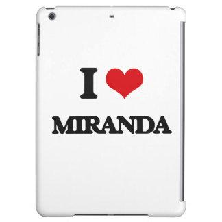 I Love Miranda Cover For iPad Air