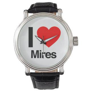 i love mires watch