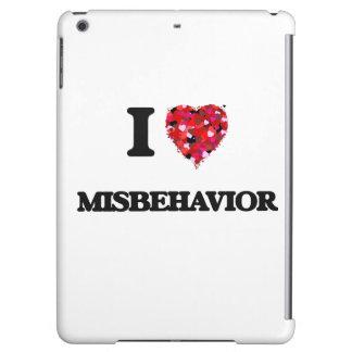 I Love Misbehavior iPad Air Cases