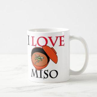 I Love Miso Classic White Coffee Mug