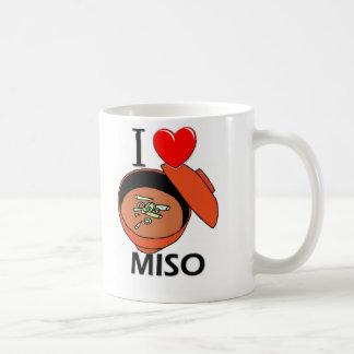 I Love Miso Coffee Mug