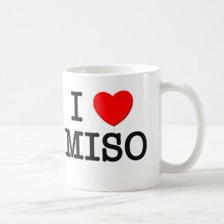 I Love MISO ( food ) Classic White Coffee Mug