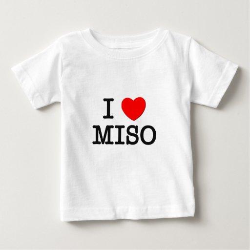 I Love MISO ( food ) Tees
