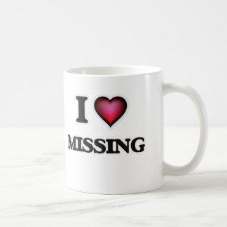 I Love Missing Coffee Mug