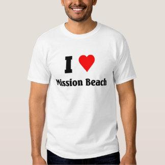 I love Mission Beach Shirt