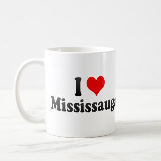 I Love Mississauga, Canada Coffee Mug
