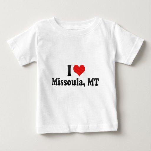 I Love Missoula, MT T-shirt