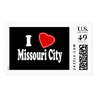 I Love Missouri City Stamp