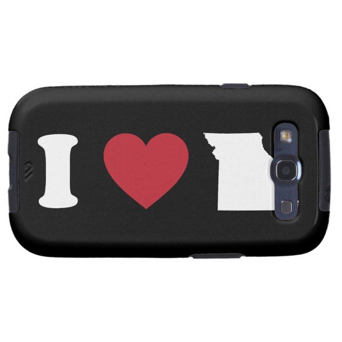 I love Missouri Galaxy S3 Cover