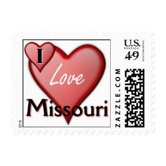 I Love Missouri Postage