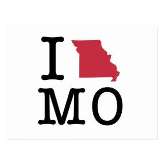 I Love Missouri Postcard