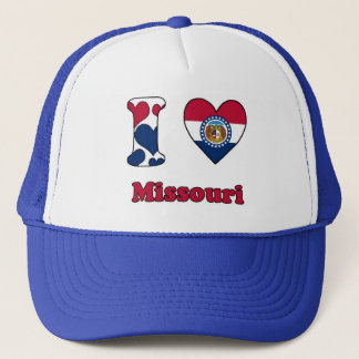 I love Missouri Trucker Hat