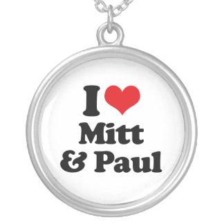 I LOVE MITT AND PAUL.png Pendant